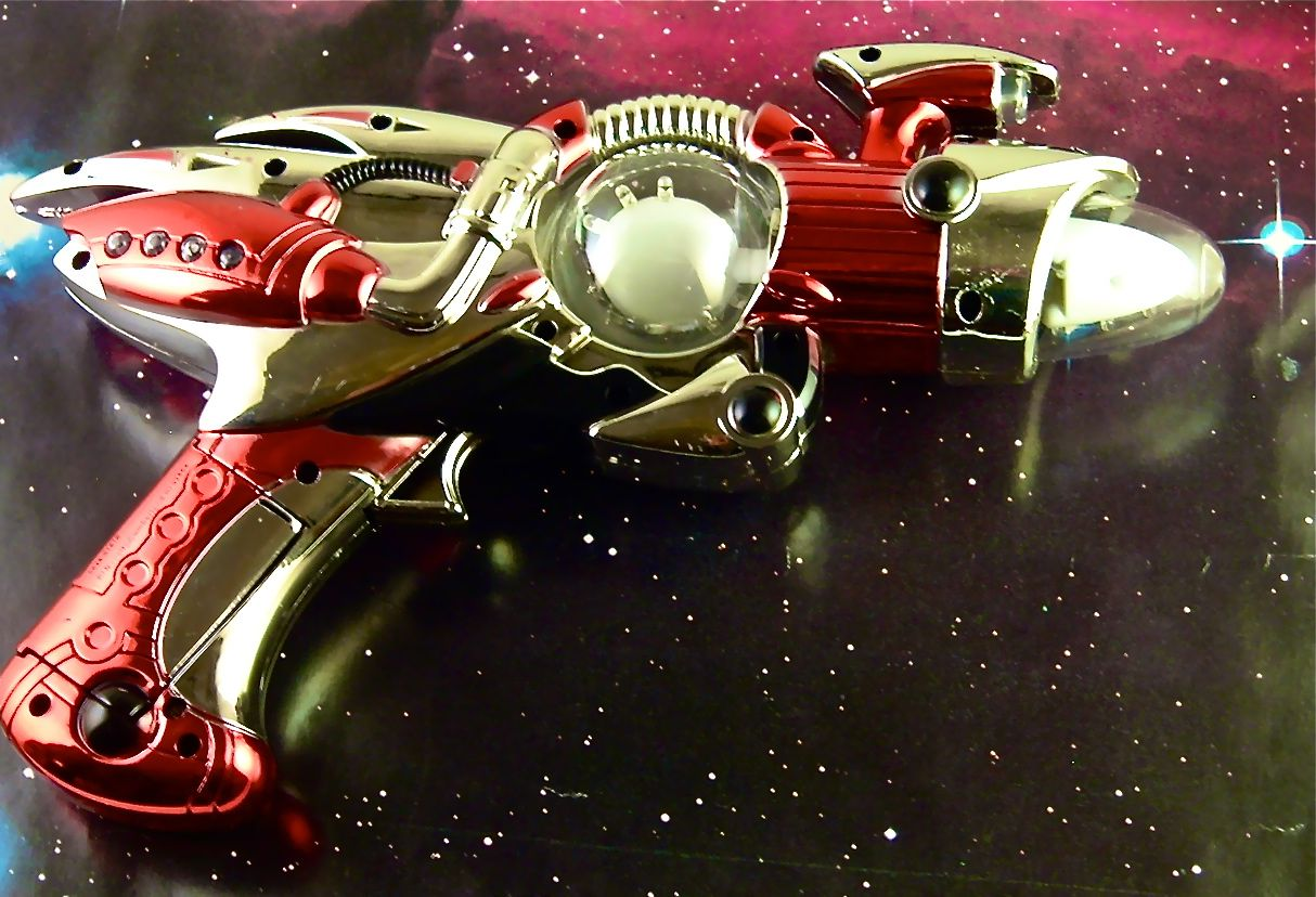 red space gun